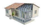 Каркасный дом из металлопрофиля. Особенности строительства