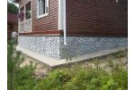 Чем покрасить фундамент дома