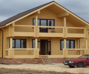 Дома из клееного бруса. Материал нового поколения