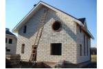 Как построить дом из пеноблоков. Видео-инструкция