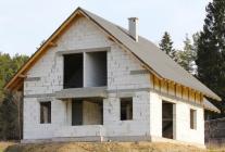 Фундамент под дом из газосиликата. Разновидности фундамента