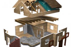 Как построить дом из сип панелей