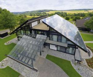 Стеклянные крыши для частных домов. Особенности стеклянных крыш