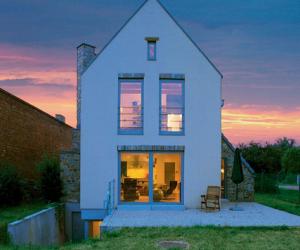 Узкий участок как построить дом. Проекты домов.