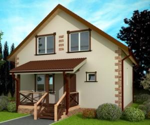 Строим дома из  пеноблоков 8*8
