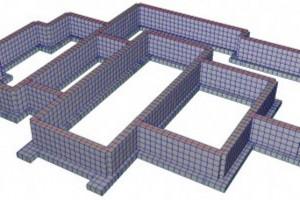 Расчёт фундамента под дом