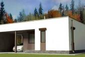 Строим каркасный дом с плоской крышей