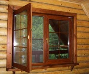 Устанавливаем окна в деревянном доме