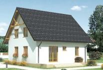 Дом из пеноблоков и кирпича