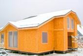 Строительство частного домов из СИП-панелей