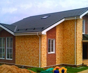 Строительство частного дома из СИП-панелей, видео