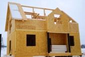 Строительство дома из СИП-панелей, видео-обзор