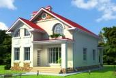Строительство двухэтажного дома из  разных строительных  материалов