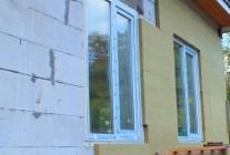 Утеплить дом из пеноблоков