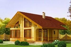 Готовые проекты домов деревянных