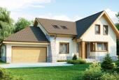 Скачать бесплатные проекты домов с гаражом