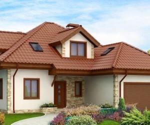 Строим дом из  пеноблоков с гаражом