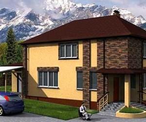 Скачать проекты домов, коттеджей с гаражом