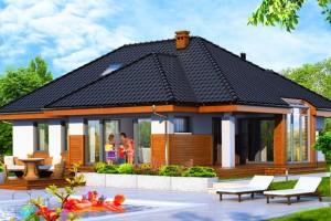 Проекты одноэтажных домов и коттеджей