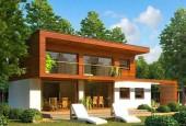 Заказать готовый проект дома с плоской крышей