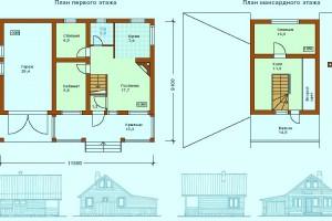 Бесплатные типовые проекты домов