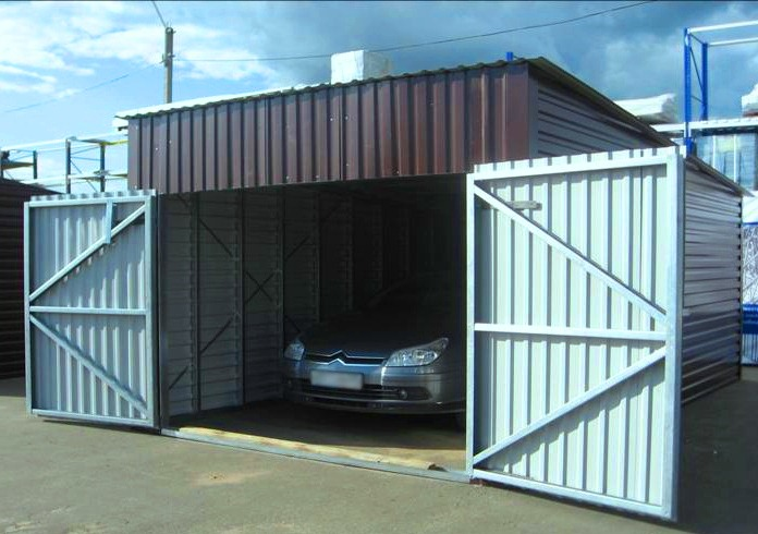 виды гаражей фото
