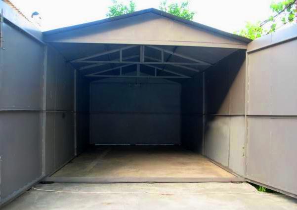 металлический-гараж