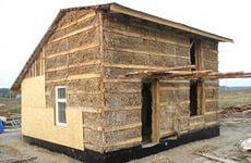Дом из глины и соломы
