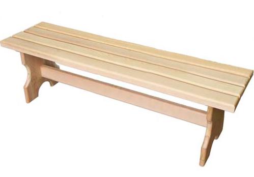 Скамейки для бани своими руками из дерева фото