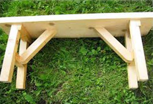 Скамья для бани своими руками