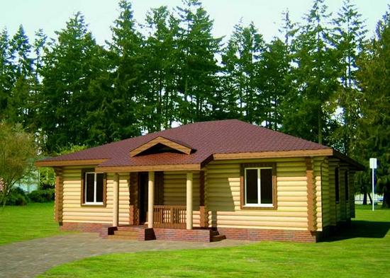 Вальмовые крыши домов фото
