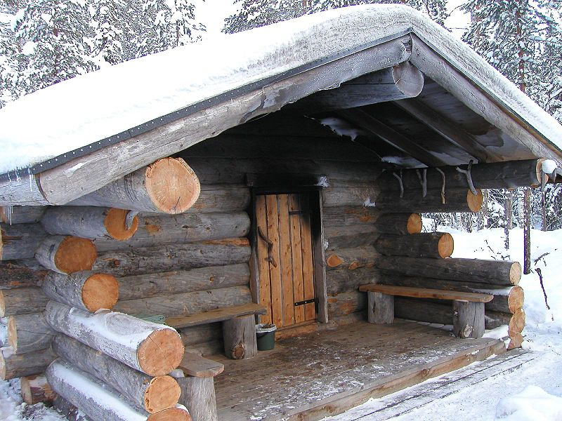 финская баня своими руками