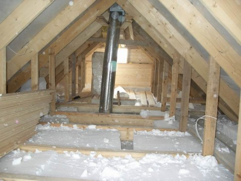 как правильно утеплить крышу бани