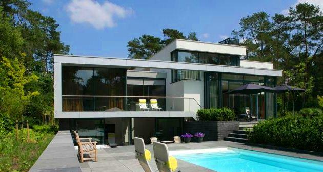 Современные-дома-с-плоской-крышей