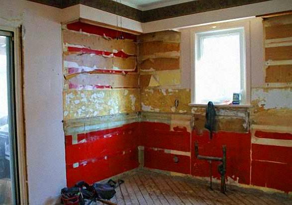 Как отремонтировать старый деревянный дом своими руками