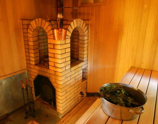 конструкция кирпичной печи для бани