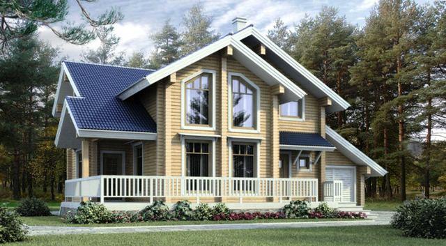 бесплатные-проекты-домов-из-бревна