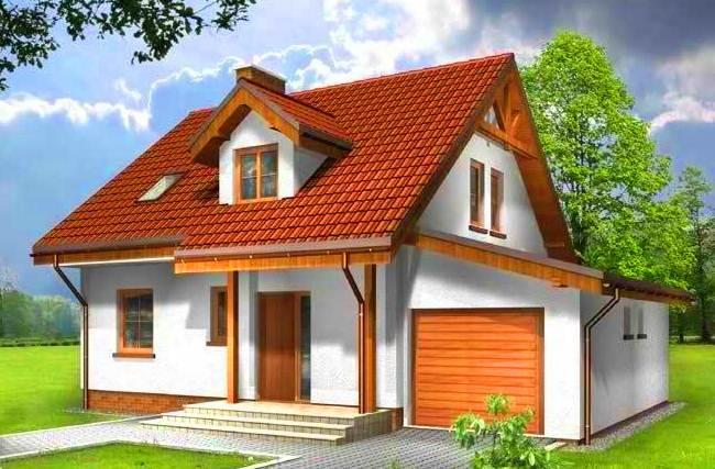 бесплатные проекты домов из пеноблока