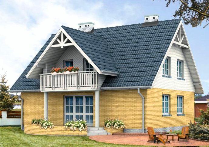 бесплатные-проекты-домов-с-мансардой